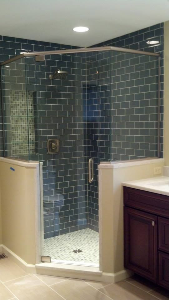 Custom shower enclosures to fit your bathroom space like a glove shower bath - bathtub glass enclosure