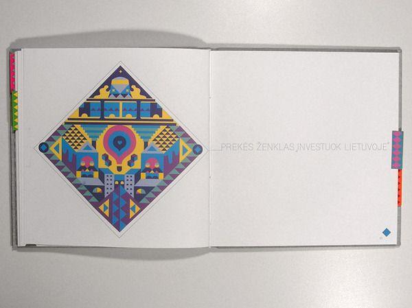 Lithuanian Identity Book by Denis Kuchta, via Behance