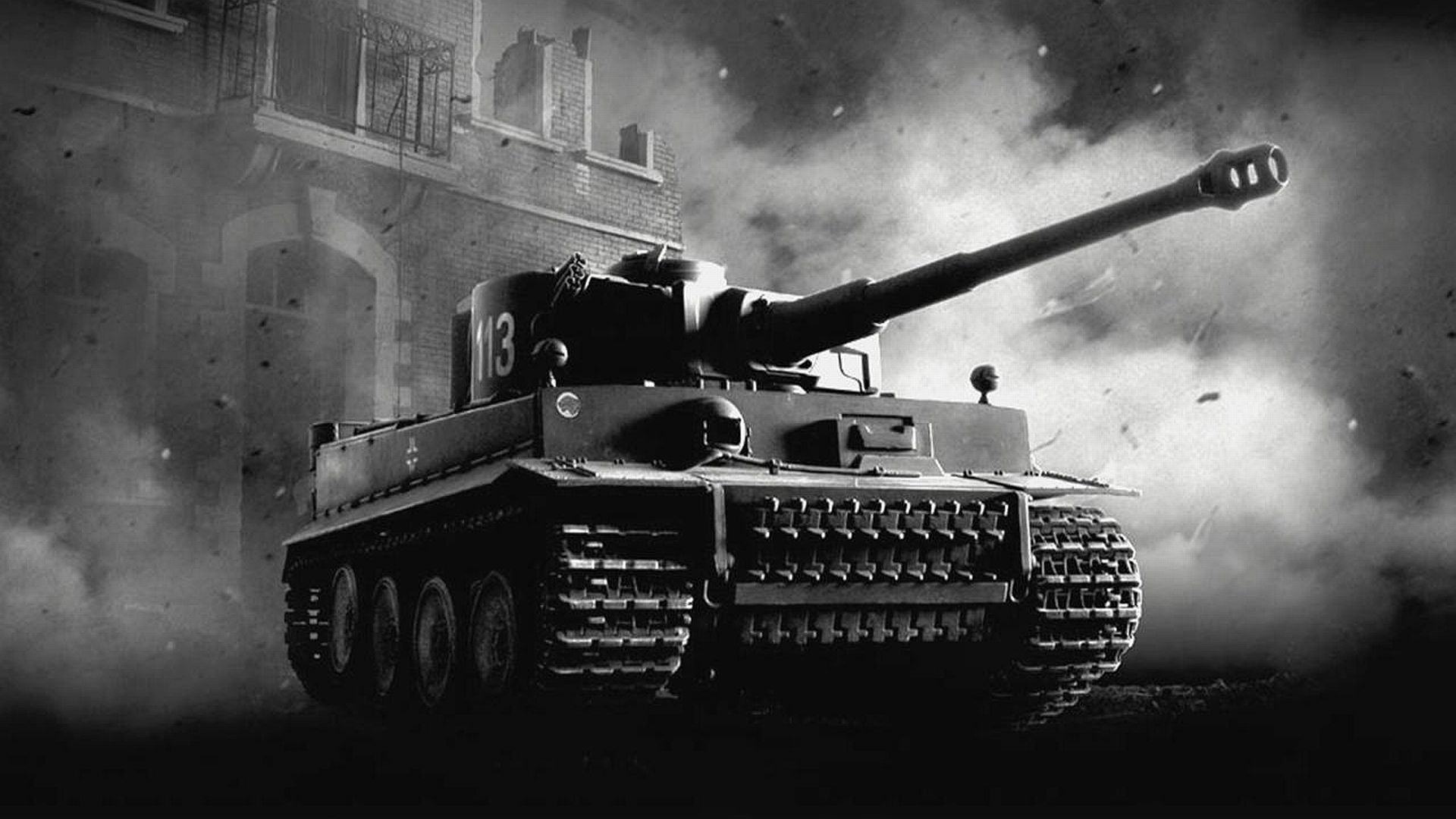 Old Tank Black High Definition Wallpaper Jpg 1920 1080 Tank Wallpaper Tanks Military Tiger Tank