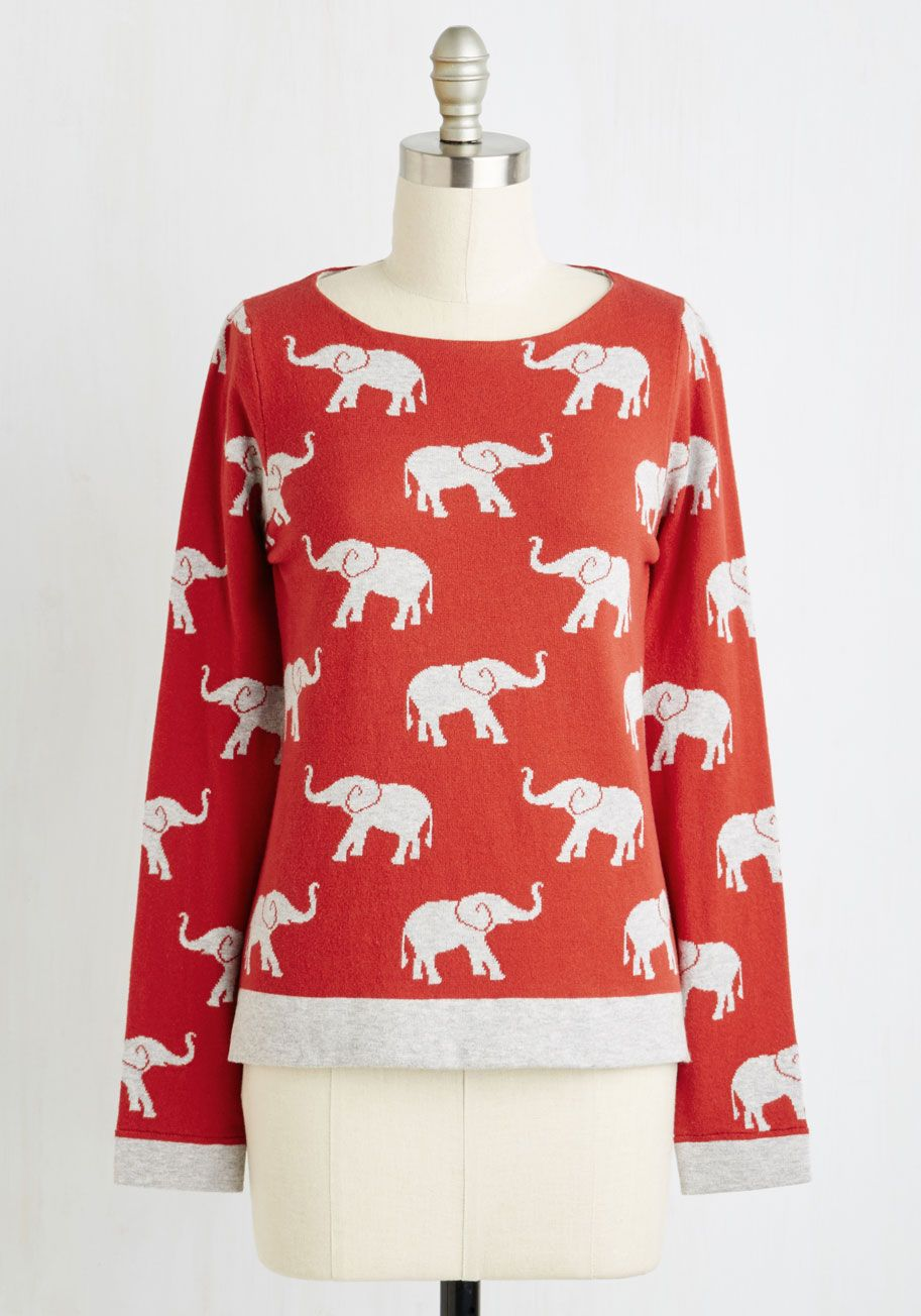 Fancy Greeting You Here Sweatshirt | ModCloth, Novelty print and ...