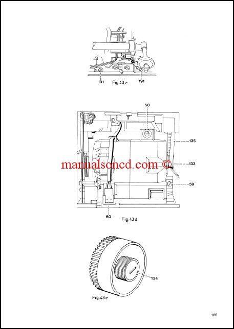Pfaff 905-1171 Sewing Machine Service Manual | Sewing Machine ...