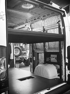 New Image Vans Specializes In Van Conversions Including Back Up Cameras Custom
