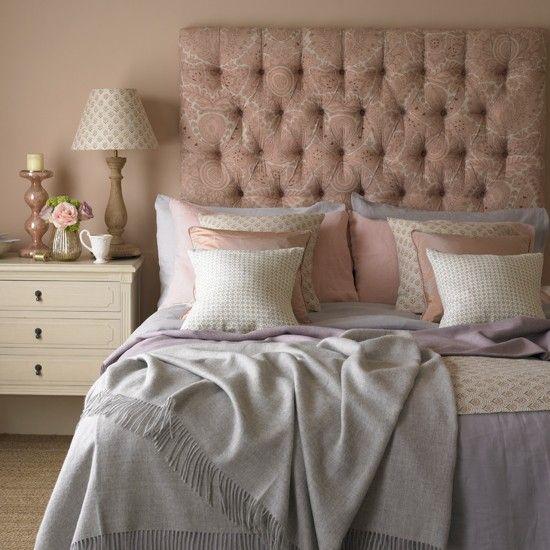 Pastell rosa Land Schlafzimmer Wohnideen Living Ideas rosé