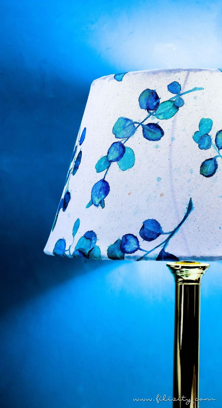 enthält werbung // diy lampenschirm basteln aus leinwand mit