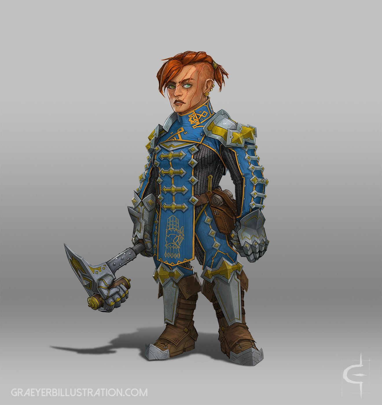 Female Gnome: More Stuff For Our Strahd Game! The Gnome Rogue This Time