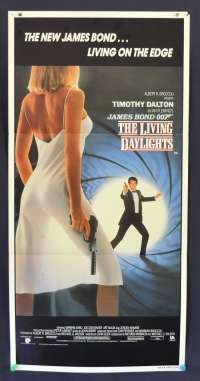 All About Movies - The Living Daylights Timothy Dalton 007 Daybill movie poster Collage