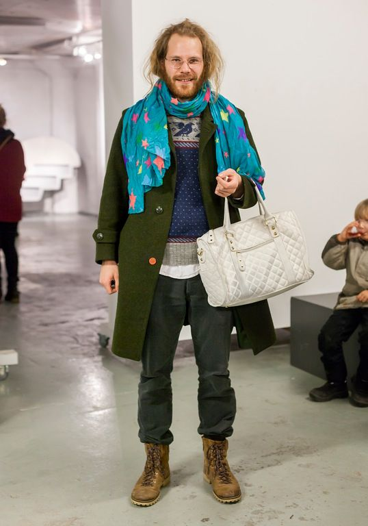 """""""I get most of my clothes from my friends. I think you can wear anything. The history of my clothes is important. I don't want to look too perfect – incompleteness is more interesting."""""""