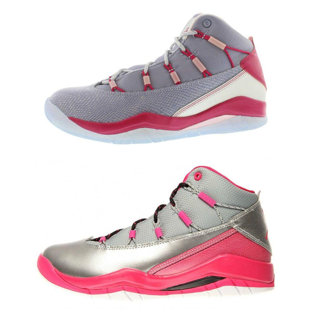 1ea56d2a02bf1 eBay  Sponsored JORDAN Big Kid Girls Prime Flight GS Sneakers 616593  95  NWOB