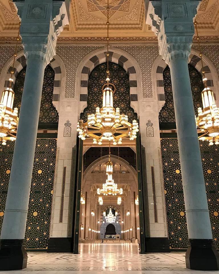 Amazingly Beautiful Entrance To Masjidalharam Makkah Mashaallah