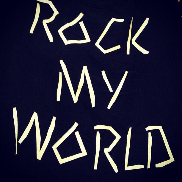 Yes! I ROCK MY WORLD