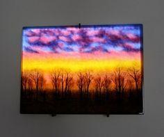 frit glass landscape photography - Google Search