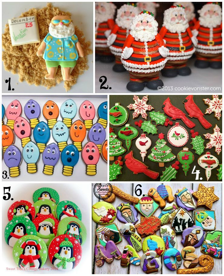 Christmas In July Cookie Collage A Fun New Tradition Christmas