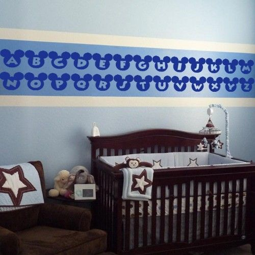wall decals canada wall stickers alphabet mickey mouse nursery