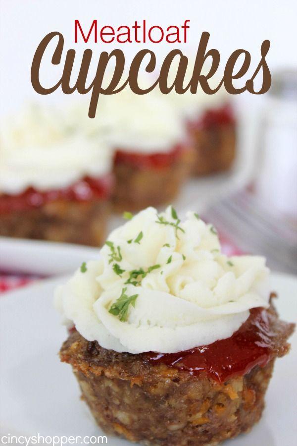 Meatloaf Cupcakes Recipe Recipe Meatloaf Cupcake Recipe Recipes Food