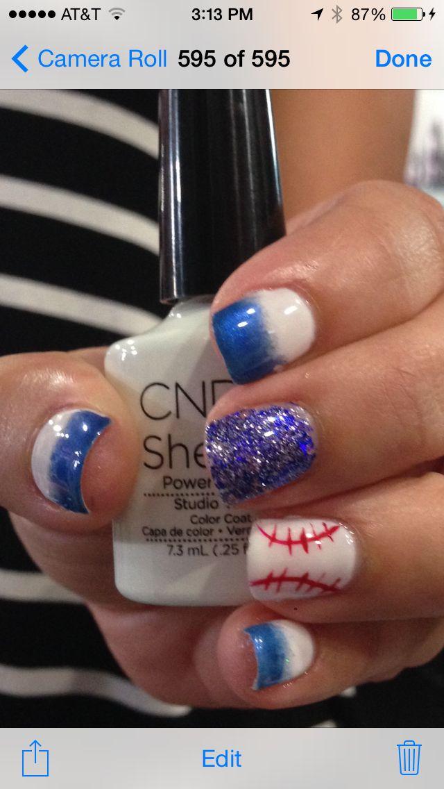 Kansas City Royals | My Nail Art I have done | Pinterest | Kansas ...