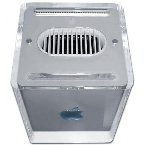 2000 – Power Mac 4G Cube. Un sobremesa tan compacto como el iMac y tan potente y ampliable como los Power Mac G4
