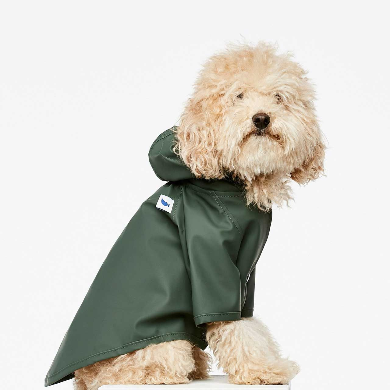 Stylish Outerwear For Dogs From The Painter S Wife Dog Coats Dog Raincoat Stylish Dogs [ 1280 x 1280 Pixel ]