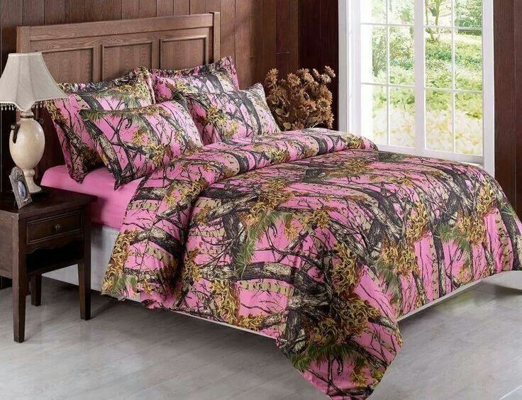 Pink camo | Country bedrooms | Pink camo bedroom, Camouflage room ...