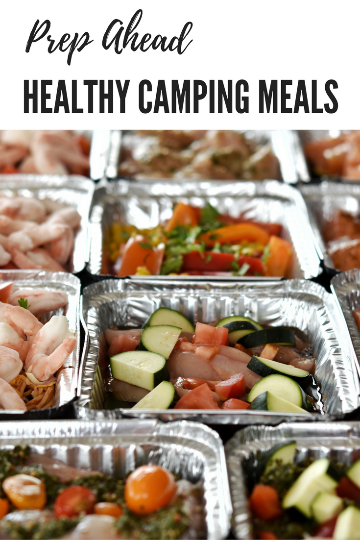 Ahead Healthy Camping Meals {Fill Your Freezer} - Confessions of a Meal Plan Addict