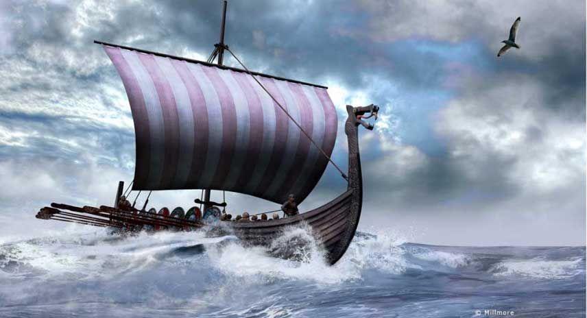 Pin by Steve O'Brien on My Tattoo Ideas - Viking Longboat | Pinterest