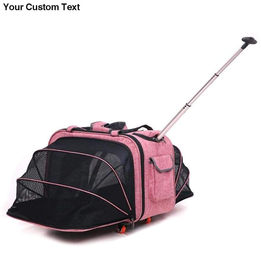 Pet Strollers Lever Expansion Box Cat Dog Go Out Carrying Pole Bag Multi Pet In 2020 Pet Strollers Multi Pet Dog Bag