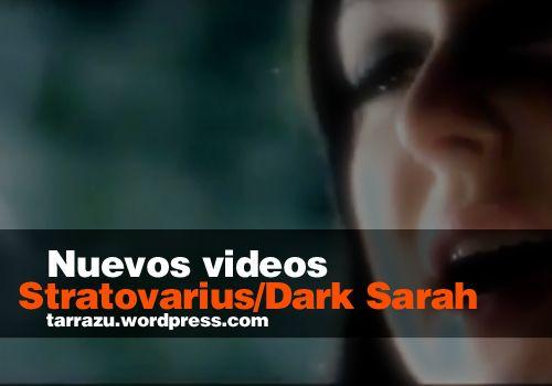 Sobre los nuevos videos de bandas finlandesas: STRATOVARIUS Y DARK SARAH