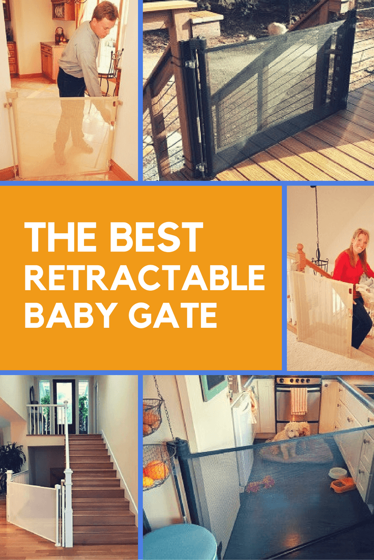 7 Best Retractable Baby Gates 2021 Guide Reviews Retractable Baby Gate Best Baby Gates Baby Gates