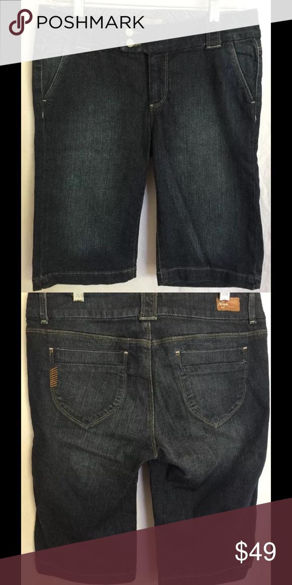 """Paige denim bermuda shorts Sweetzer style. 98% cotton & 2% spandex. Excellent condition. Waist- 30"""", inseam- 12"""", rise- 8 1/2"""" Paige Jeans Shorts Jean Shorts"""