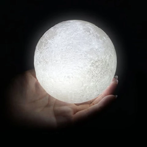 3d Led Lunar Moon Lamp Sk Collection Night Light Moon Light Lamp Night Lamps