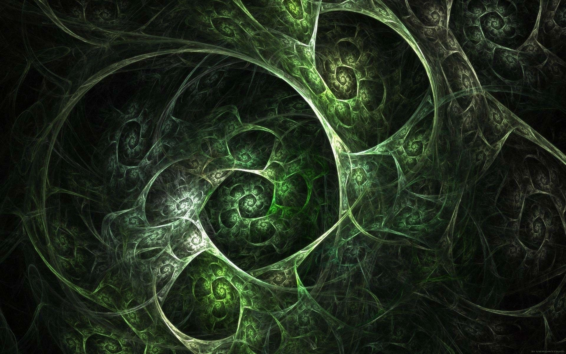 10 Best Black And Green Wallpapers Full Hd 1080p For Pc Background Fractal Art Abstract Wallpaper Fractals