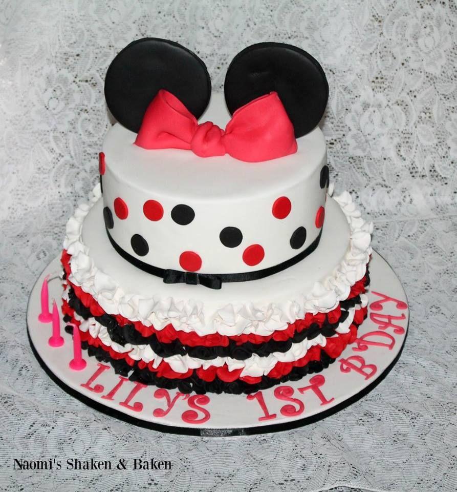 Minnie mouse themed birthdays birthday babyshower birthdaycakes