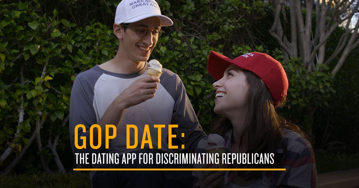 Republican dating app
