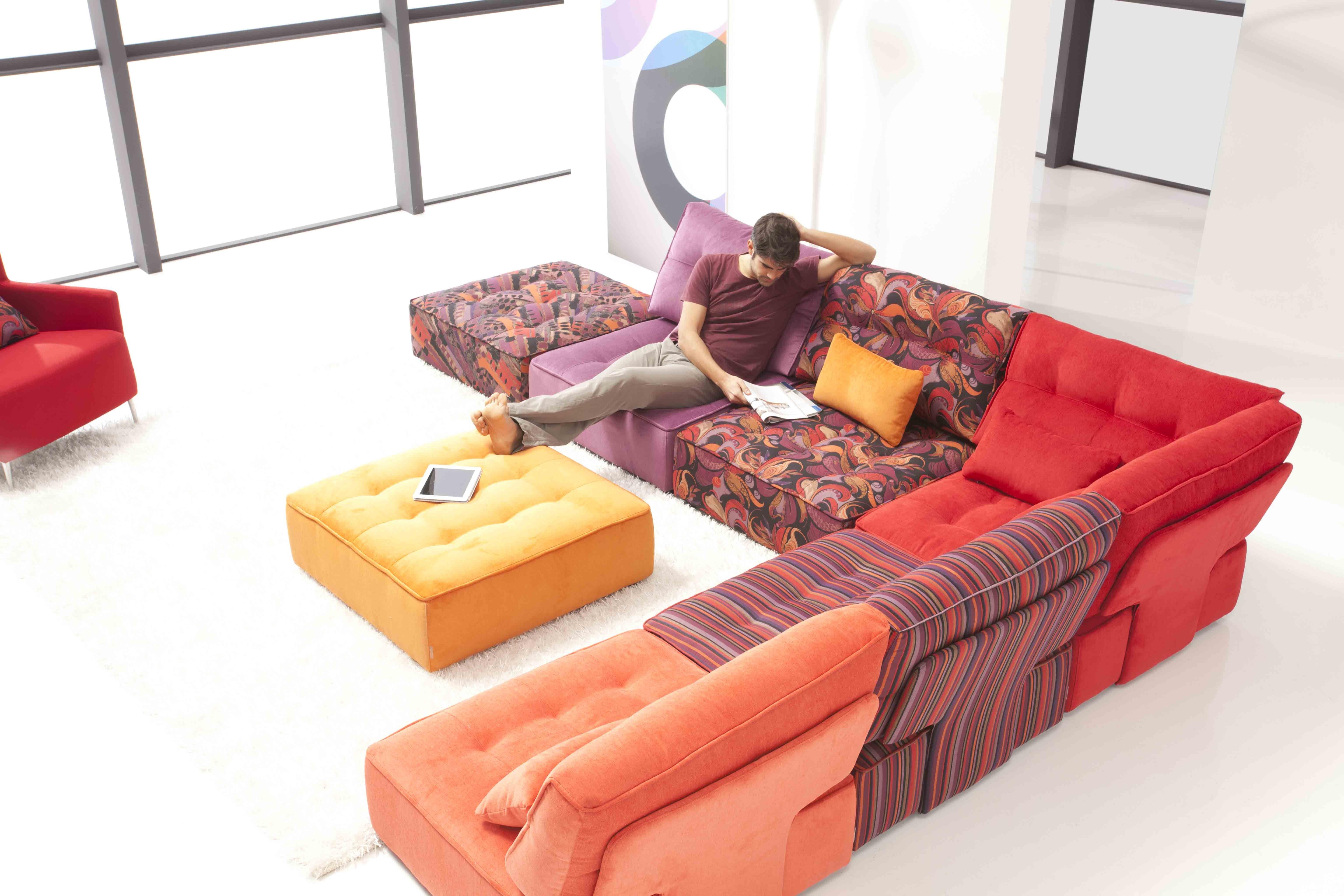 Arianne Fama modular sofa L I V I N G R O O M