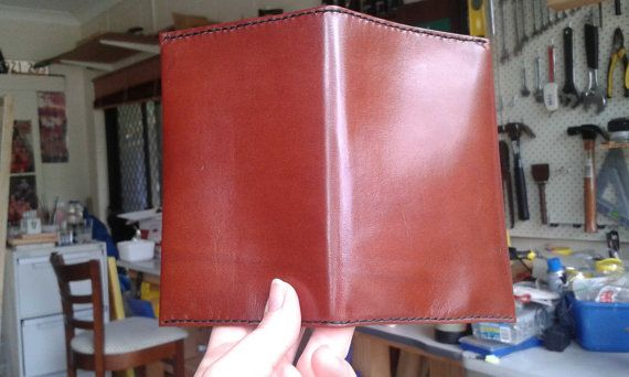 Gorgeous kid leather notebook cover.  https://www.etsy.com/au/listing/243424266/leather-notebook-cover-a6-brown-kid