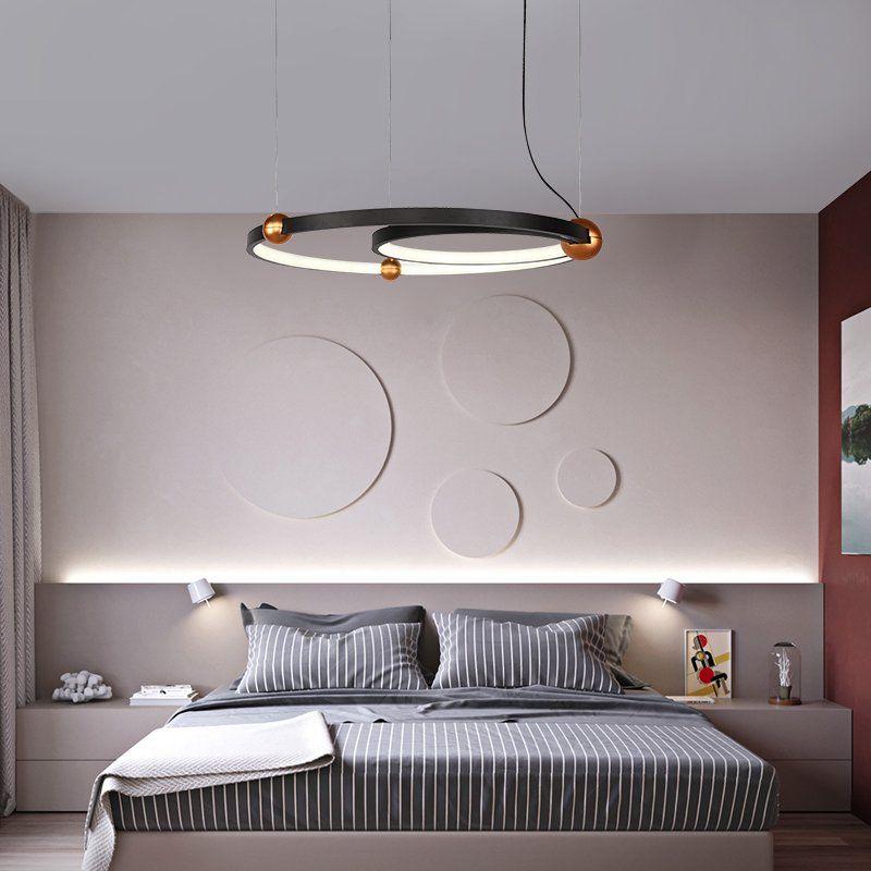 2020 的 Modern Trend Led Creative Simple Dining Room Living Room