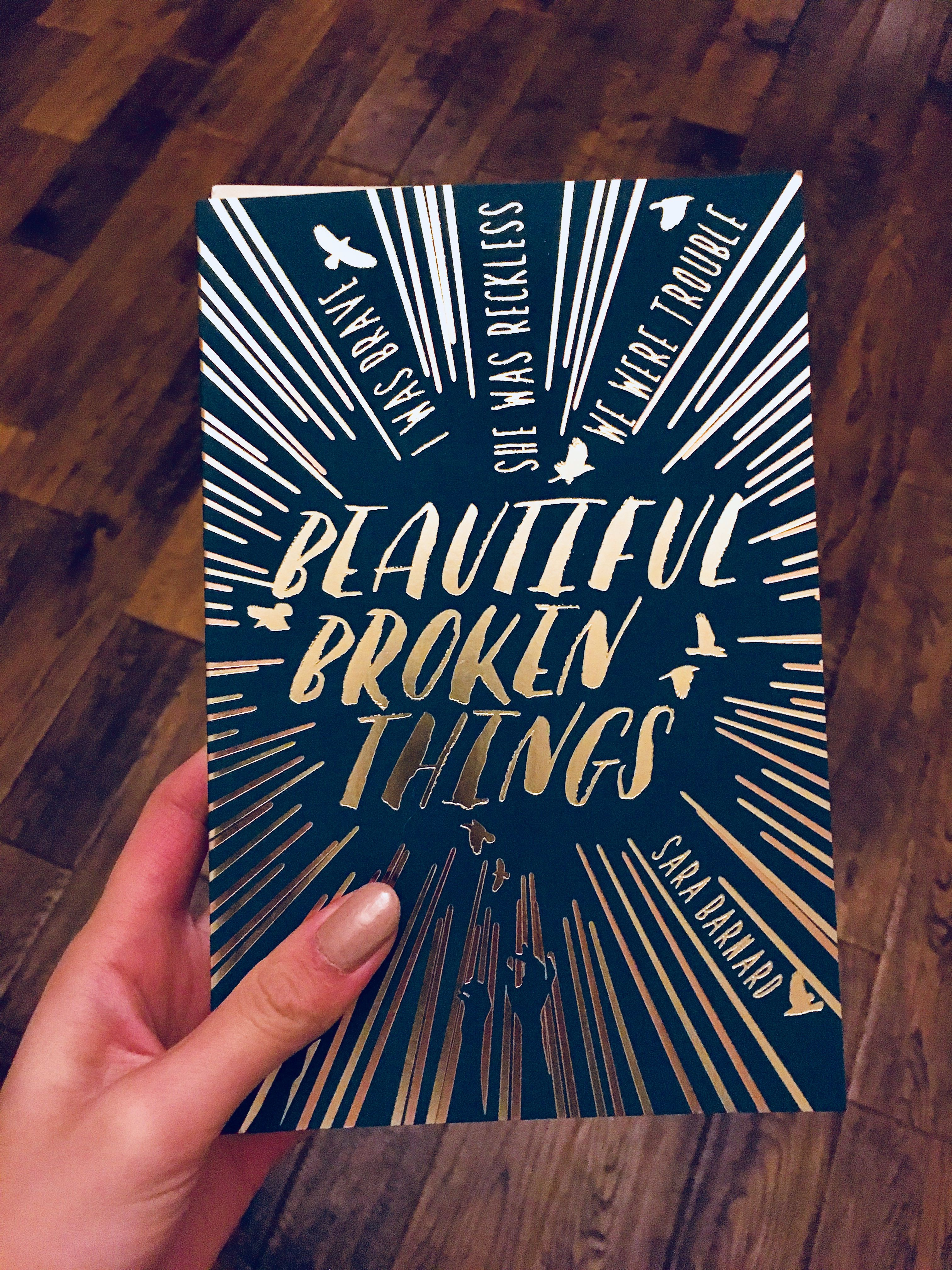 Reading Beautiful Broken Things Quotes In 2019 Inspirational