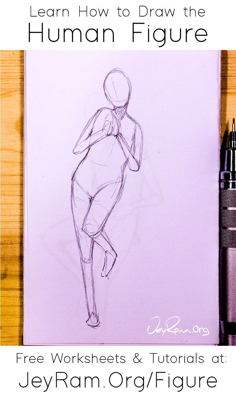 How To Draw The Human Figure In 2020 Drawings Figure Drawing Tutorial Human Figure