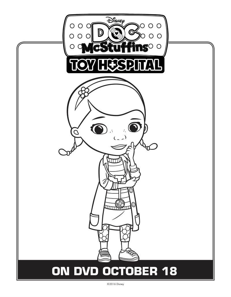 Doc McStuffins Coloring Page | Disney | Pinterest