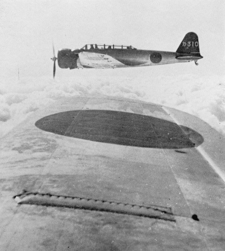 Nakajima B5N1 of training kokutai.