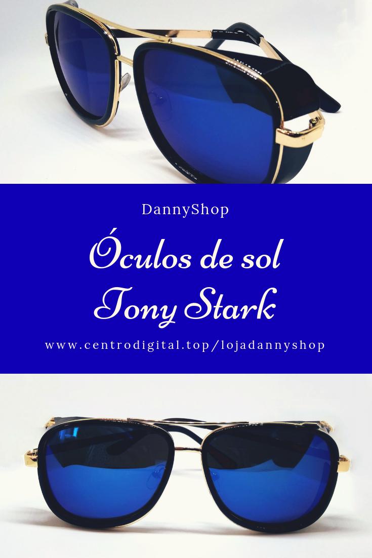 d5decb2a227de Óculos de sol Tony Stark