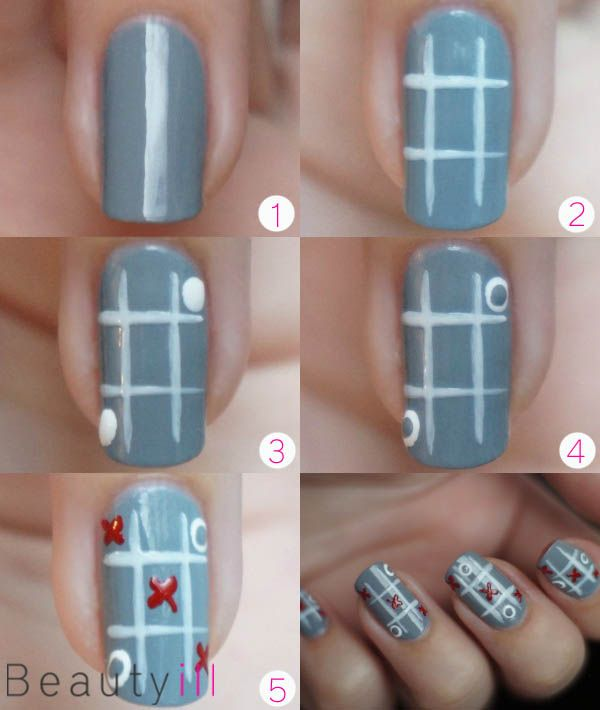 DIY Nail Art | XOXO Valentine's Day ~ Beautyill | Beautyblog met nail art, nagellak, make-up reviews en meer!