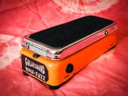 COLORSOUND Fuzz + Wah orange - Vintage 1970 Original - SOLA SOUND in München - Altstadt | Musikinstrumente und Zubehör gebraucht kaufen | eBay Kleinanzeigen