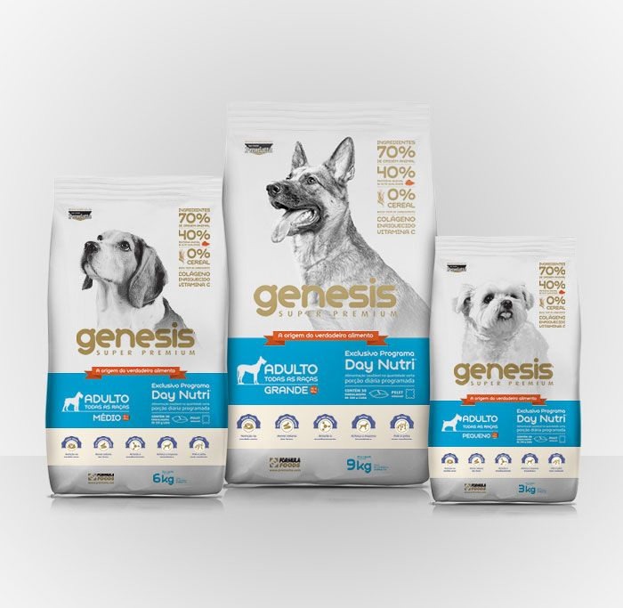 Genesis Dog Food Dog Food Brands Dog Food Recipes Food Packaging