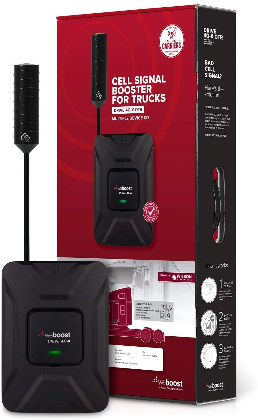 Weboost Driveg X Otrcell Phone Signal Booster Trucker Kitndashverizonat Amp Tt Mobilesprint Enhance Amazon Affiliate Link Cli In 2020 Signal Boosters Phone Boosters