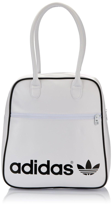 5c00d2892f1f Adidas Women s Adicolor Bowling Bag - White Black SAVE 62% NOW £15