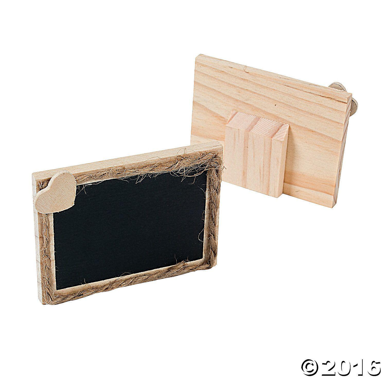 Chalkboard Place Cards - OrientalTrading.com | BAEF Tree | Pinterest ...