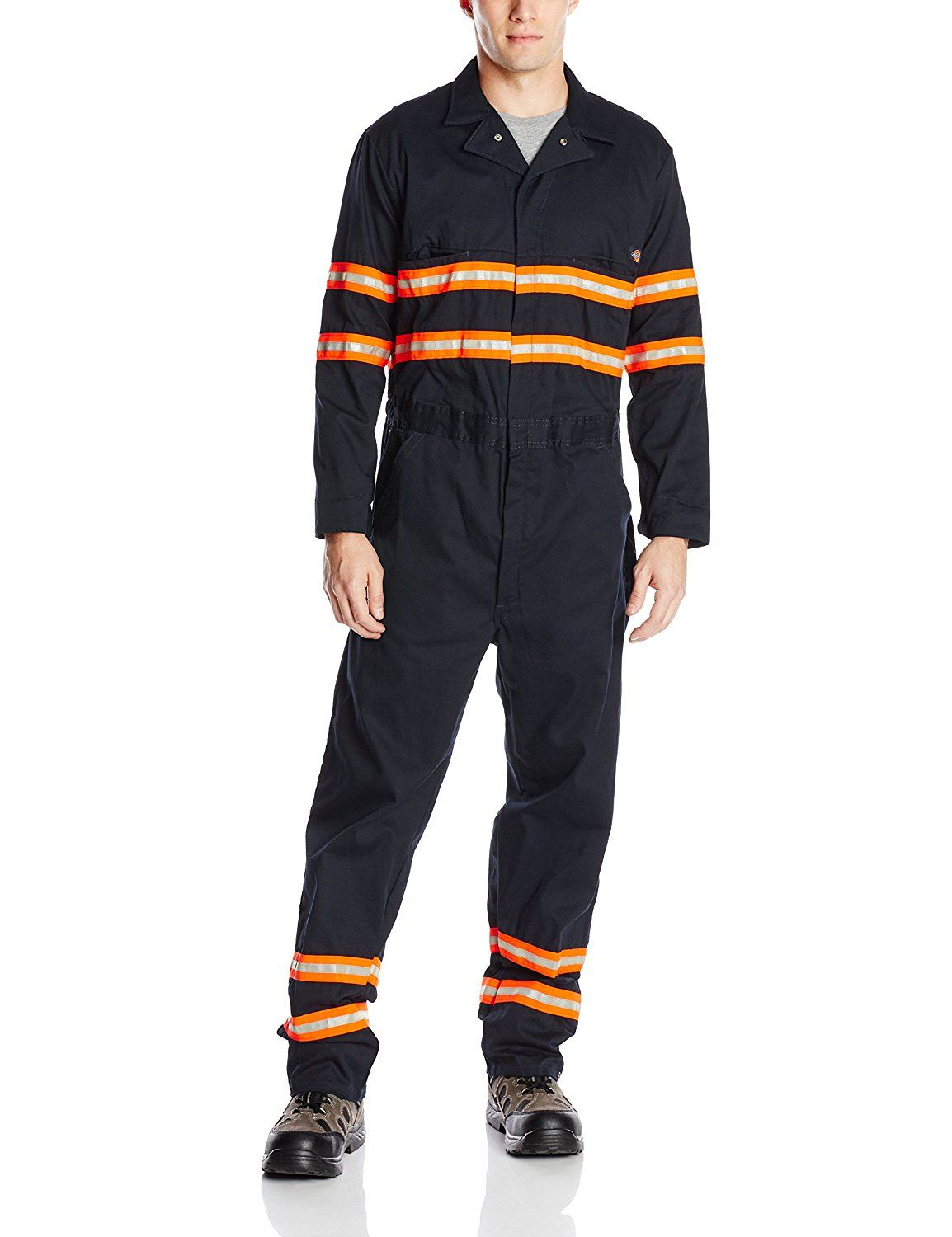 amazon com dickies men s enhanced visibility long sleeve on best insulated coveralls for men id=25568