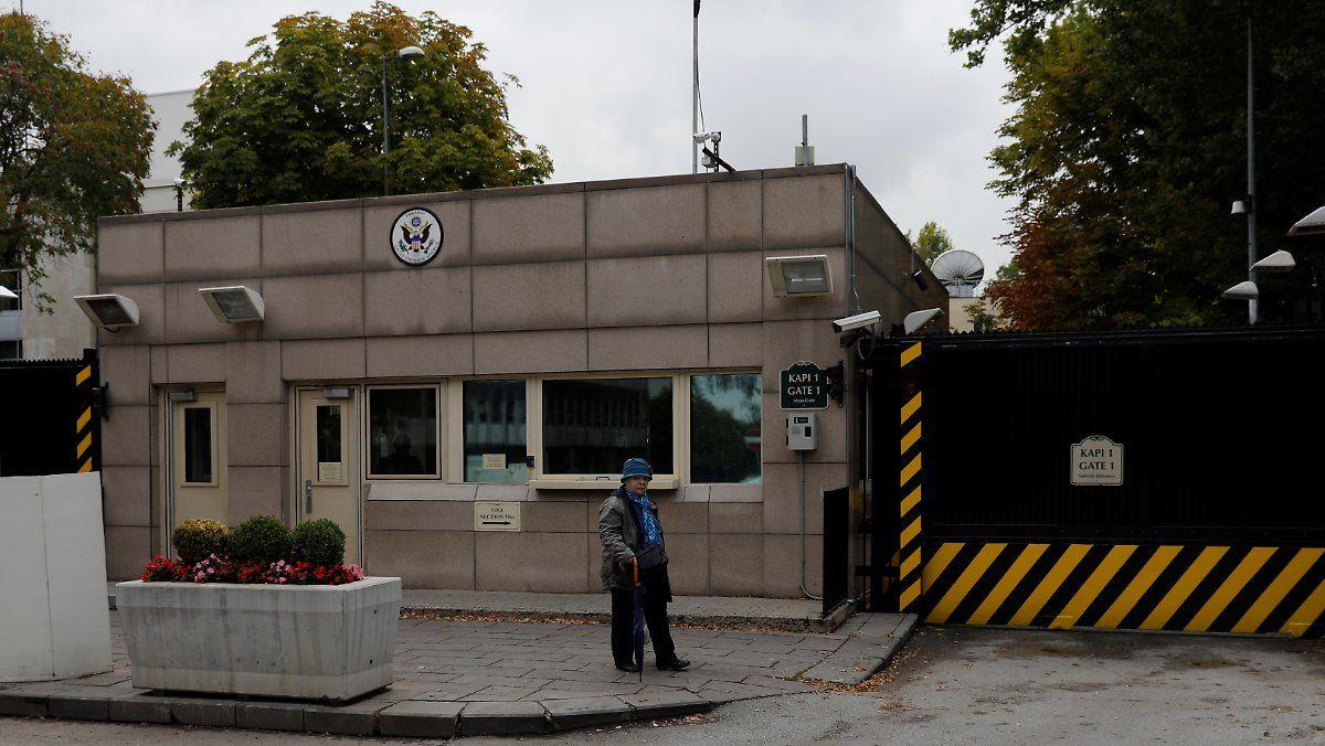 Zwischenfall in Ankara:Unbekannte schießen auf US-Botschaft | Pinterest
