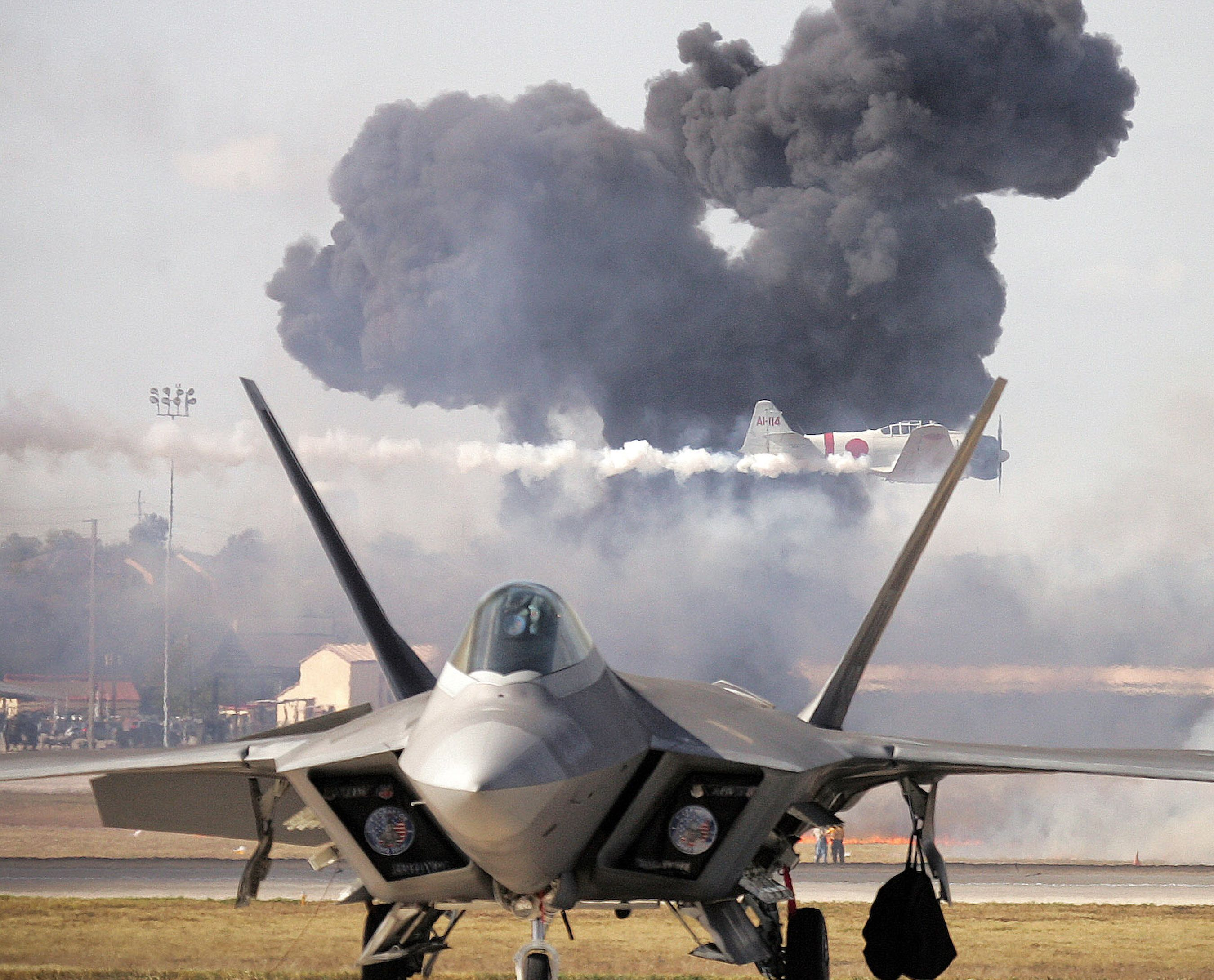 The Lockheed Martin F-22 Raptor - USD 400m per aircraft!