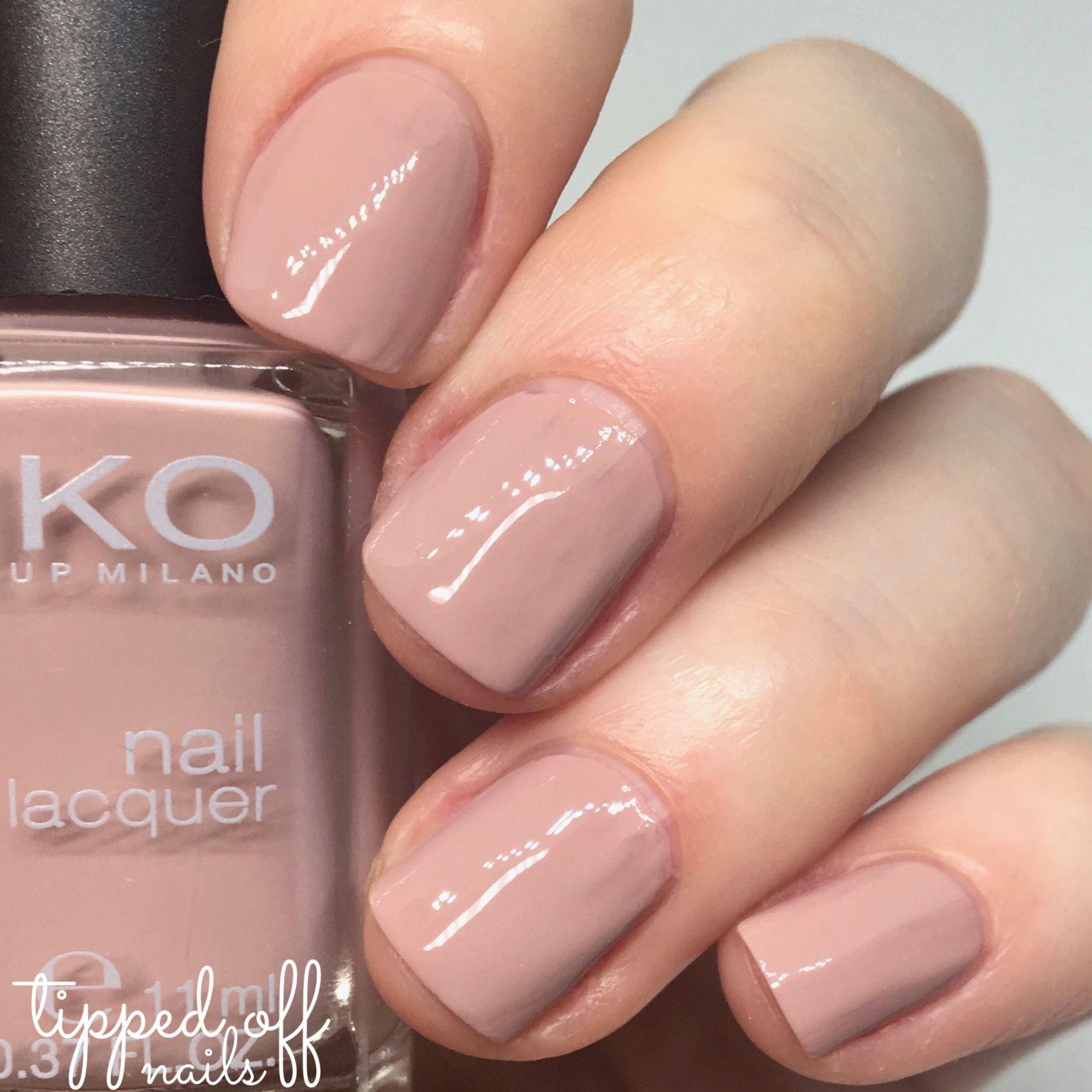 Kiko milano nail lacquer swatch 508 rose sand makeup for Kiko 365 tattoo rose